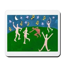 Dance Naked Mousepad