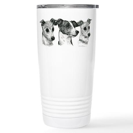 Italian Greyhound Stainless Steel Travel Mug