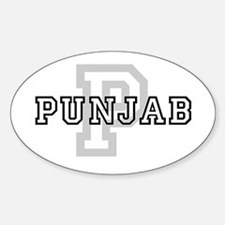 Punjab Oval Decal