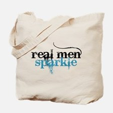 Real Men Sparkle 2 Tote Bag