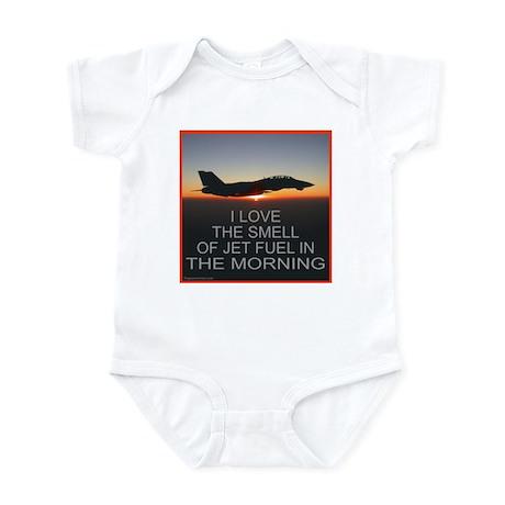 SMELL OF JET FUEL Infant Bodysuit