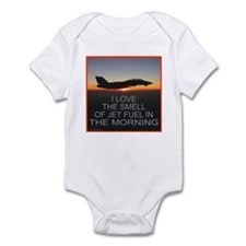SMELL OF JET FUEL Infant Bodysuit
