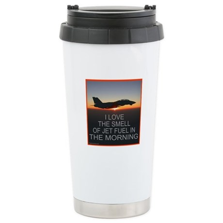 SMELL OF JET FUEL Stainless Steel Travel Mug