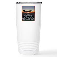 SMELL OF JET FUEL Travel Coffee Mug
