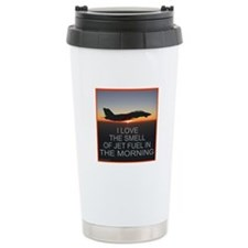 SMELL OF JET FUEL Travel Mug