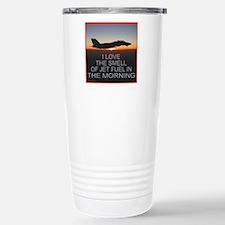 SMELL OF JET FUEL Travel Mug