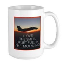 SMELL OF JET FUEL Mug