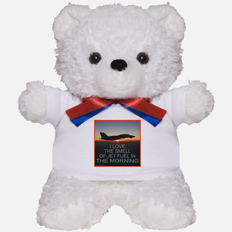 SMELL OF JET FUEL Teddy Bear
