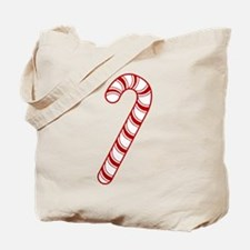Candy Cane Tote Bag