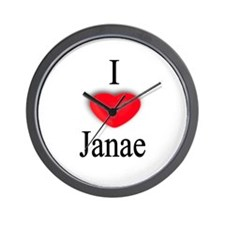 Janae Wall Clock