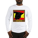 Spanish Map Long Sleeve T-Shirt