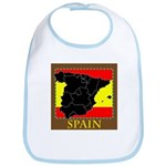 Spanish Map Bib
