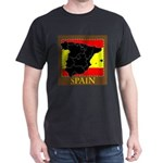 Spanish Map Dark T-Shirt