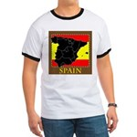 Spanish Map Ringer T