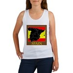 Spanish Map Women's Tank Top