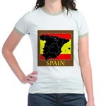 Spanish Map Jr. Ringer T-Shirt