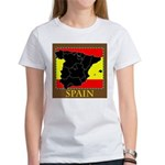 Spanish Map Women's T-Shirt
