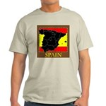 Spanish Map Light T-Shirt