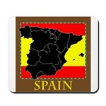 Spanish Map Mousepad