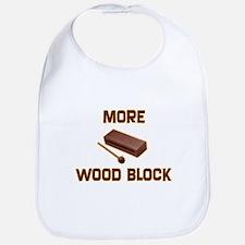 More Wood Block Bib