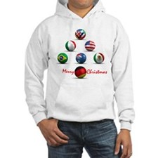 Soccer Christmas Tree Hoodie