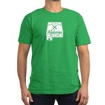 Alabama Men's Fitted T-Shirt (dark)