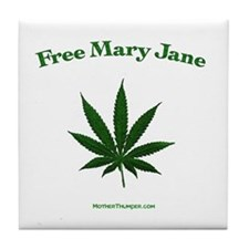 Free mary Jane Tile Coaster