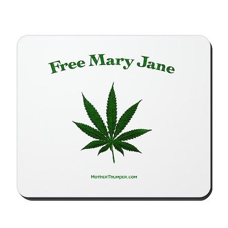 Free mary Jane Mousepad