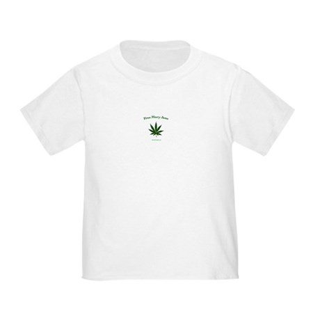 Free mary Jane Toddler T-Shirt