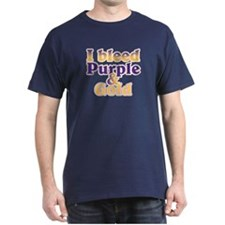 Bleed Purple and Gold T-Shirt