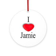 Jamie Ornament (Round)