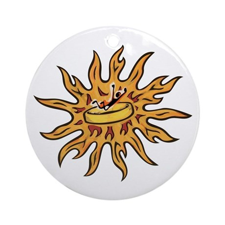 Ring of Fire Ornament (Round)
