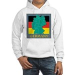 Germany Map Hooded Sweatshirt