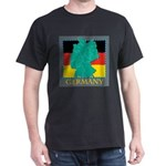 Germany Map Dark T-Shirt