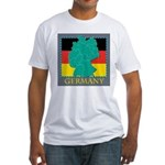Germany Map Fitted T-Shirt