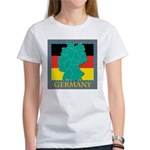 Germany Map Women's T-Shirt