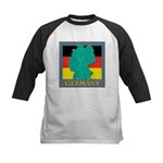 Germany Map Kids Baseball Jersey