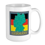 Germany Map Large Mug