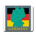 Germany Map Mousepad
