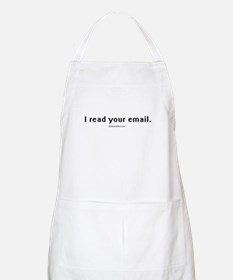 I read your email ~  BBQ Apron