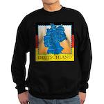 Deutschland German Map Sweatshirt (dark)