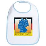 Deutschland German Map Bib