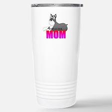 Schnauzer Mom Stainless Steel Travel Mug