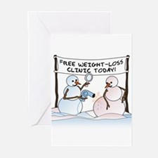 Melting the Pounds Greeting Cards (Pk of 10)