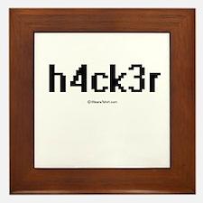 h4ck3r ~ Framed Tile