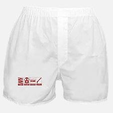 In Case Of Zombie Apocalypse Boxer Shorts