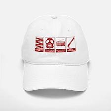 In Case Of Zombie Apocalypse Baseball Baseball Cap