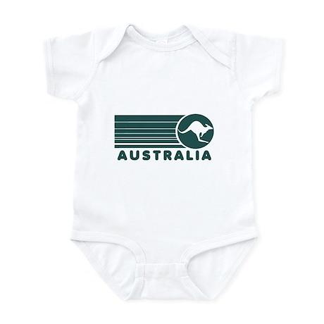 Australia Vintage Stripes Infant Bodysuit