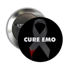 "CURE EMO 2.25"" Button"