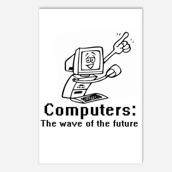 Computers are the future ~  Postcards (Package of